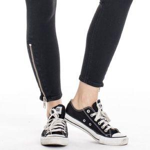 TEXTILE Elizabeth & James Ankle Zip Jeans